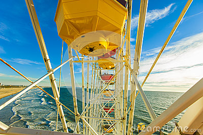 The Ferris Wheel at the Santa Monica Pier, California