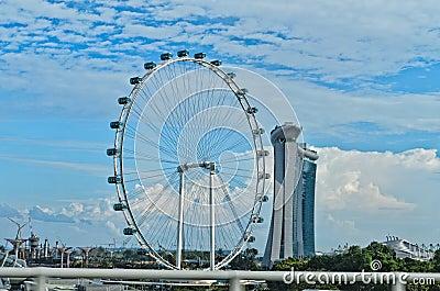 Ferris wheel Singapore Flyer
