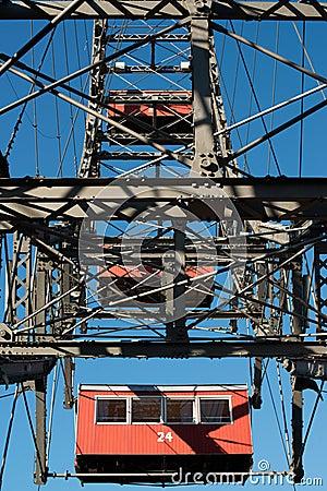 Ferris Wheel At Vienna Prater