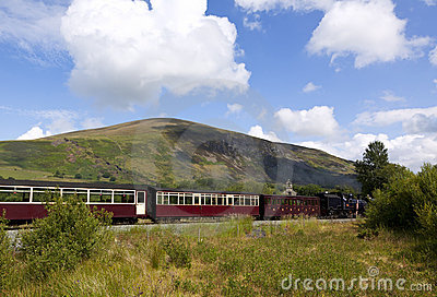Ferrovia dell annata dell altopiano di Lingua gallese