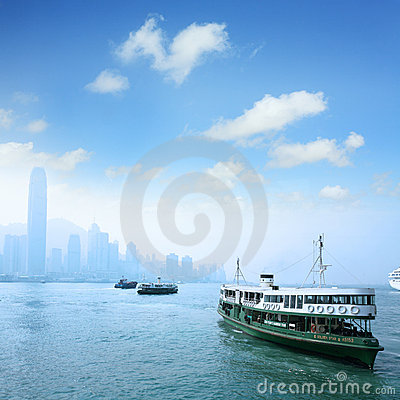 Ferry Editorial Stock Image
