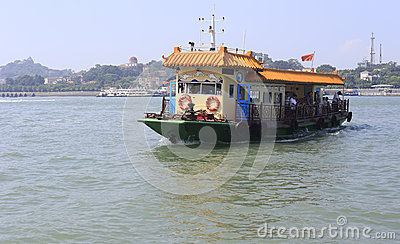 Ferry Editorial Stock Photo