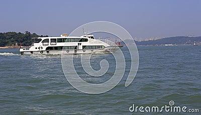 Ferry Editorial Photo