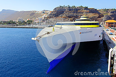 Ferry boat Editorial Stock Photo