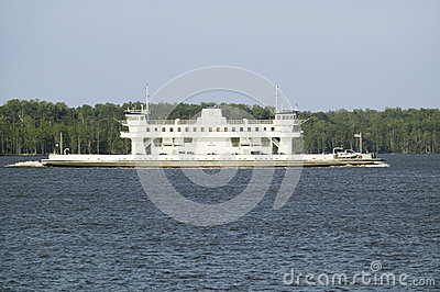 Ferry boat with cars Editorial Stock Image