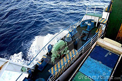Ferry boat in Indonesia