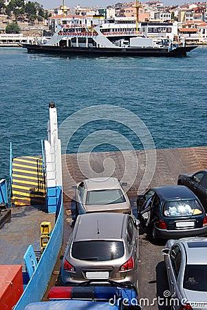 Free Ferry Boat Ramp Royalty Free Stock Photos - 15625178