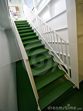 Free Ferry Boat Stairs Royalty Free Stock Photography - 10068497