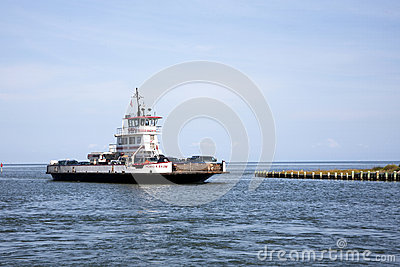 Ferry Car Transport Editorial Photography