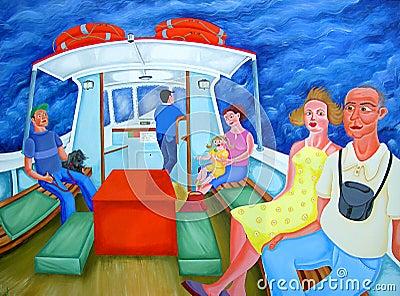 Ferry Passengers