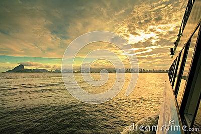 Ferry Rio De Janeiro Brazil