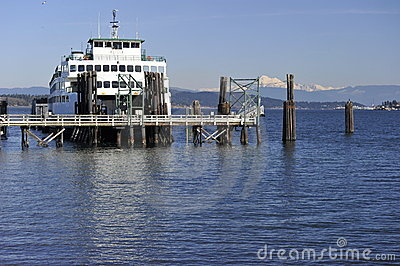 Ferry at the Terminal