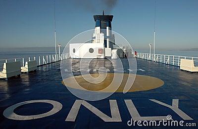 Ferry to Sardinia (Italy)