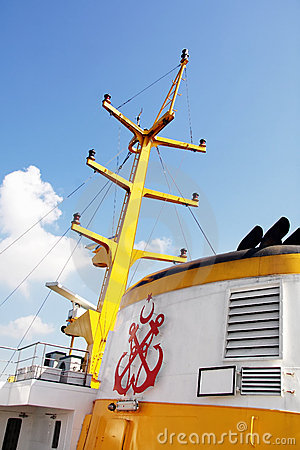 Ferryboat detail at Istanbul