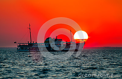 ferryboat Stock Photo