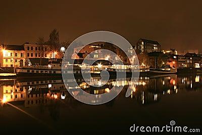 Ferrys in the night