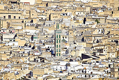 Fes in Morocco Africa