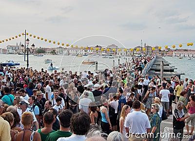 Festa del Redentore-Venice,Italy Editorial Photography
