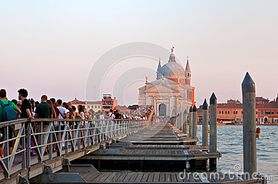 Festa del Redentore in Venice Editorial Photo
