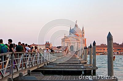 Festa del Redentore in Venice Editorial Photo