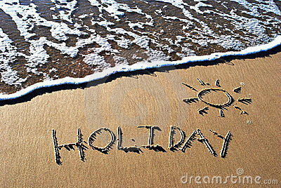 Festa scritta in sabbia
