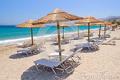 Feste in mare il mar Egeo di Creta