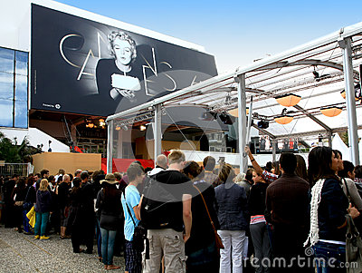 Festival of Cannes, Palais du festival, France Editorial Photography