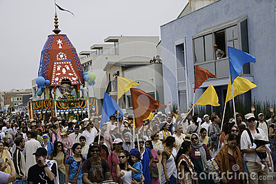 Festival of the Chariots Editorial Image