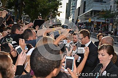 Festival cinematografico 2013 dell internazionale di Toronto Fotografia Editoriale