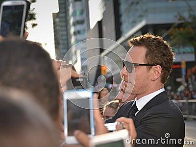 Festival cinematografico 2013 dell internazionale di Toronto Fotografia Stock Editoriale