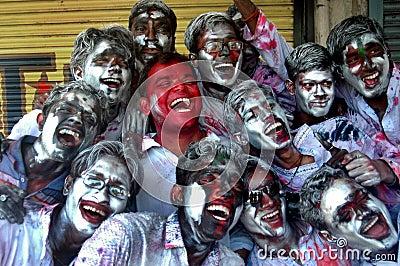 Festival of colour-HOLI Editorial Photography