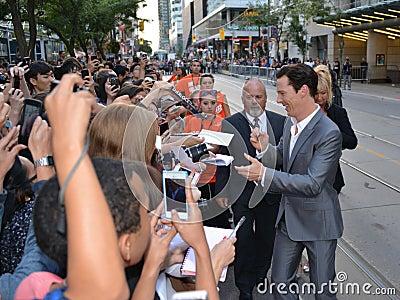 Festival de cine 2013 del International de Toronto Imagen de archivo editorial