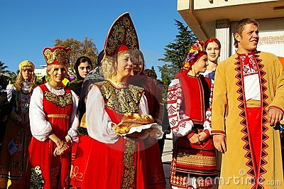 Festival of ethnic cultures in Sochi, Russia Editorial Photography