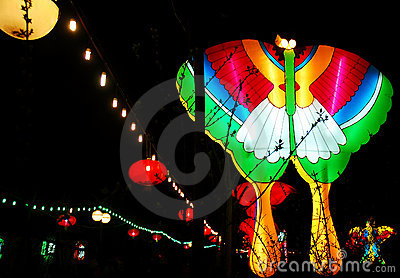 Festival of lanterns Editorial Photography