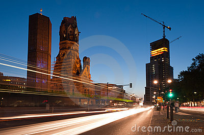 FESTIVAL OF LIGHTS 2010 in Berlin, Germany Editorial Stock Image