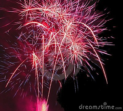 Free Festival Of Fireworks Royalty Free Stock Photo - 3812595