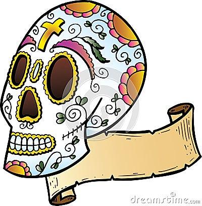 Tibetan Skull Tattoo Tags:Aztec, Calendar, Enoki, Mexican, Mexican Aztec