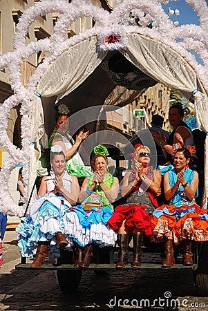 Festivals - The El Rocio Pilgrimage Editorial Stock Image
