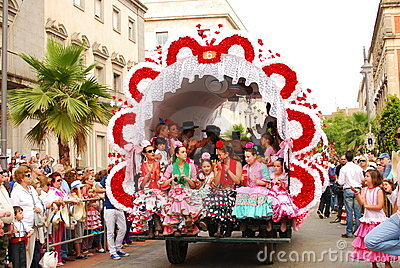Festivals - The El Rocio Pilgrimage Editorial Photo