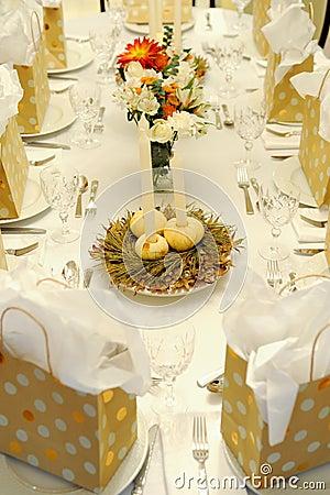 Festive Autumn Table
