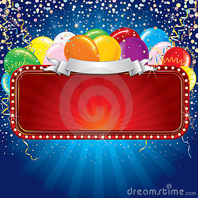 Free Festive Billboard Royalty Free Stock Photos - 15049288