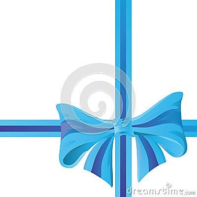 Festive bow.