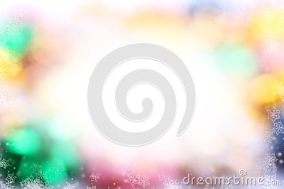 Festive bright background