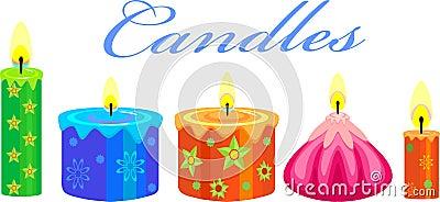 Festive Candles