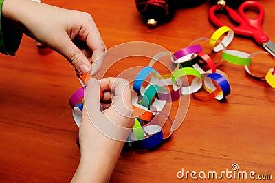 Festive chain