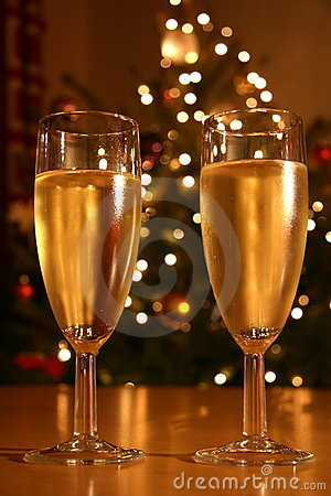 Free Festive Champagne Royalty Free Stock Image - 7672716