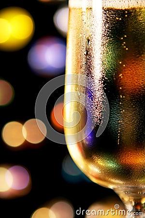 Festive Champagne Toast
