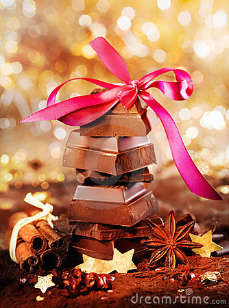 Festive Chocolate And Spices