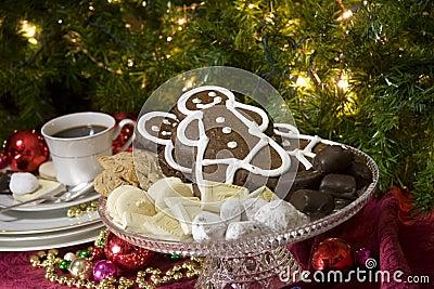 Festive Christmas food