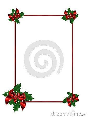 Festive Christmas frame